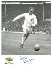 Ray Wilson Autograph Signed Photo
